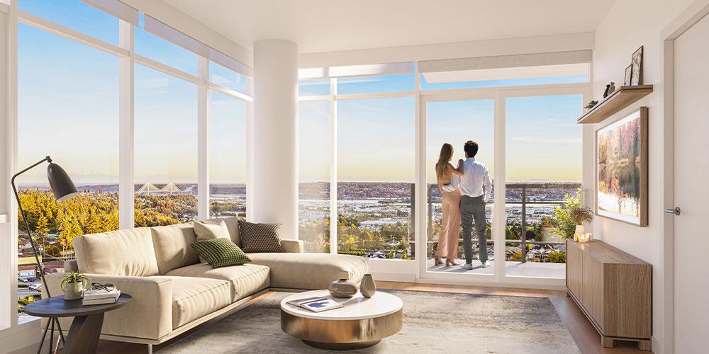 Peek inside Coquitlam's vibrant new development starting from mid-$300,000 (PHOTOS)