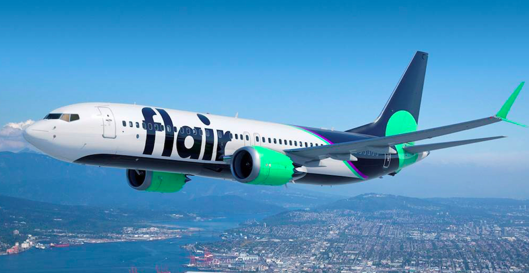Flair Airlines begins service with the first of 13 new Boeing 737-8 aircraft