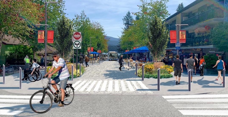 Deep Cove's main retail street to undergo pedestrian-oriented transformation