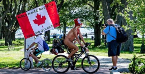 The World Naked Bike Ride took over Toronto this weekend (PHOTOS) | Listed