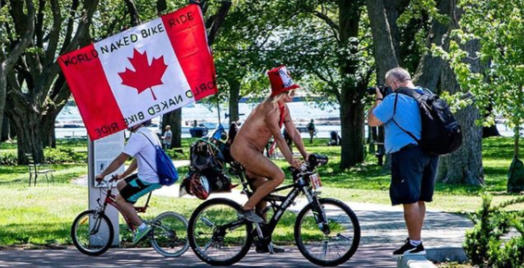 The World Naked Bike Ride took over Toronto this weekend (PHOTOS)