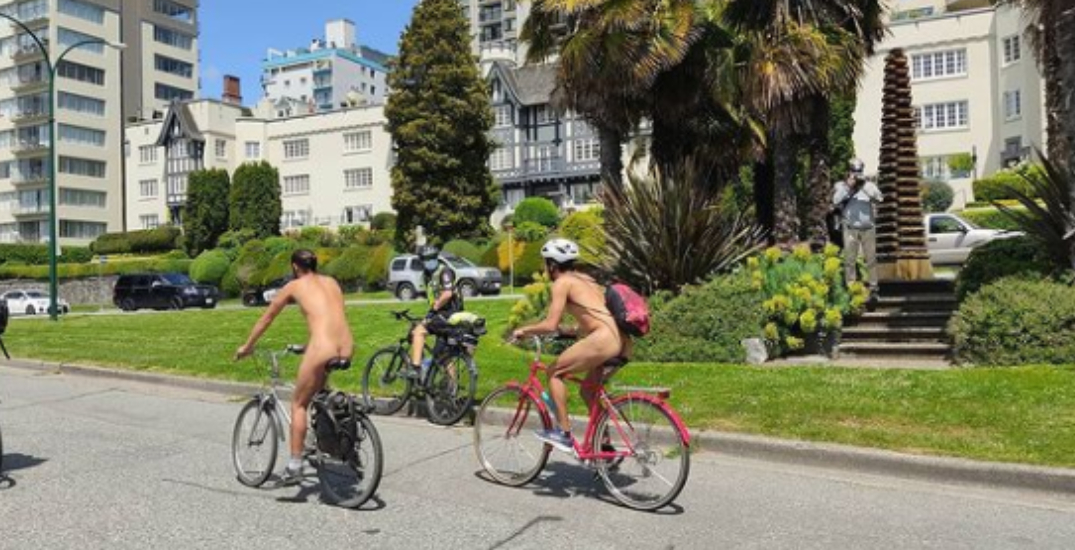 The World Naked Bike Ride took over Vancouver this weekend (PHOTOS)