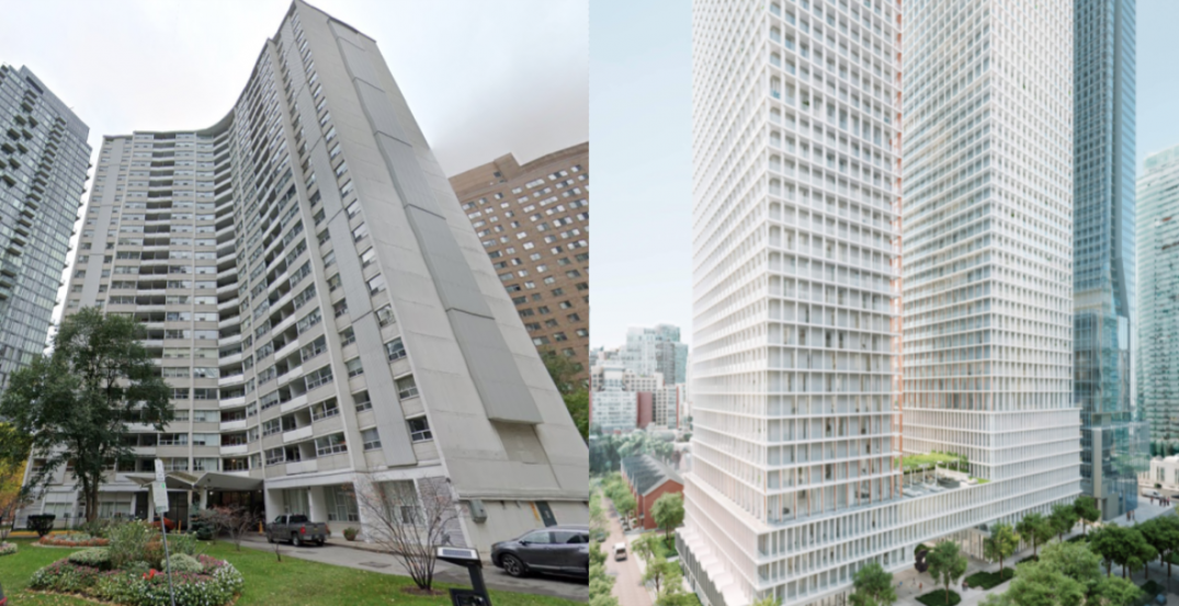 Two-tower condo plans require demo of downtown Toronto 24-storey rental