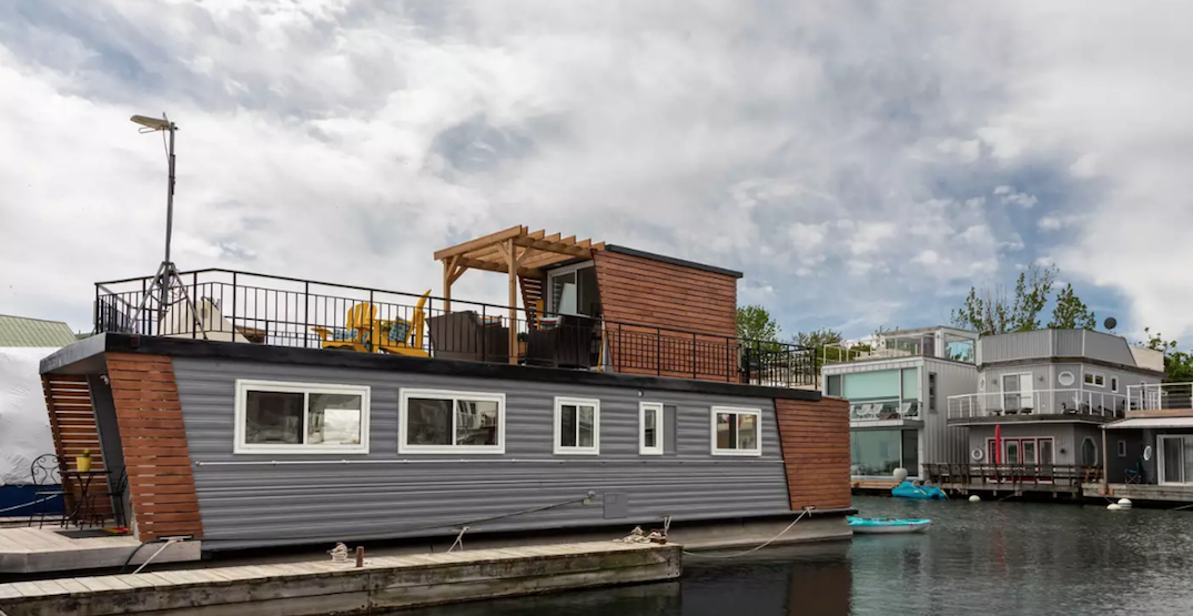 This Toronto houseboat is on the market for under $340,000