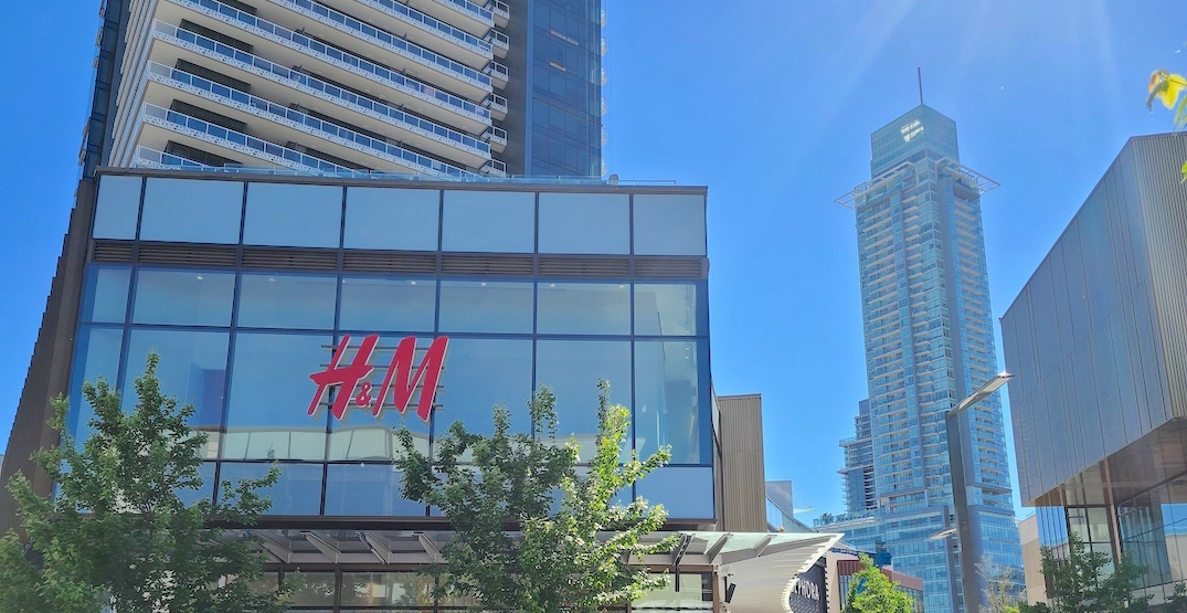 H&M flagship store with Metro Vancouver's first H&M Home opening this week