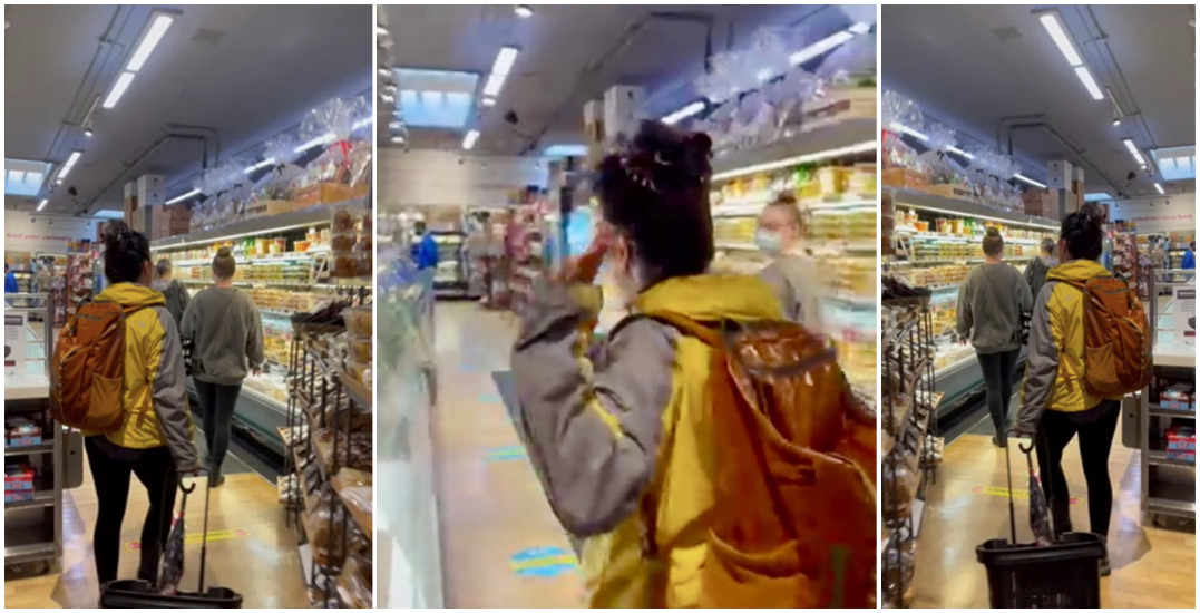 Mask exemption leads to confrontation in South Granville grocery store (VIDEO)