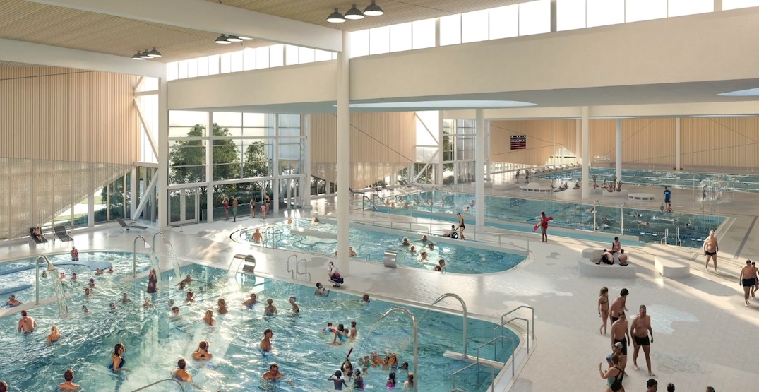 New massive aquatic and recreational centre planned for Burnaby Lake (RENDERINGS)