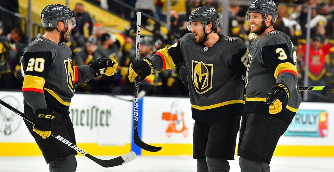 Golden Knights snap Canadiens playoff win streak with Game 1 victory