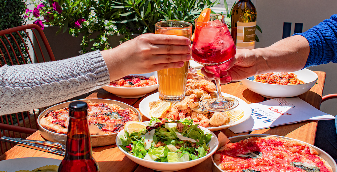Eataly Toronto is officially reopening its patio tomorrow