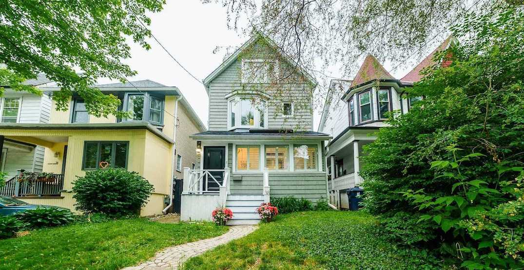 Toronto Beaches home sells in one day for $415,000 over asking
