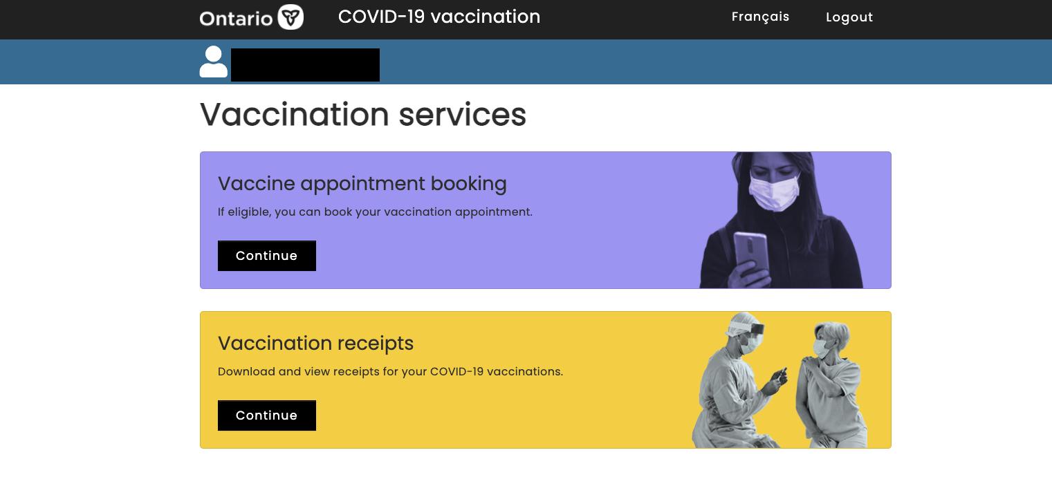vaccination receipt