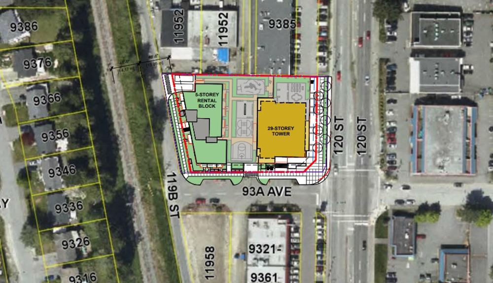 9365-9383 120 Street 11959-11969 93A Avenue Delta tower