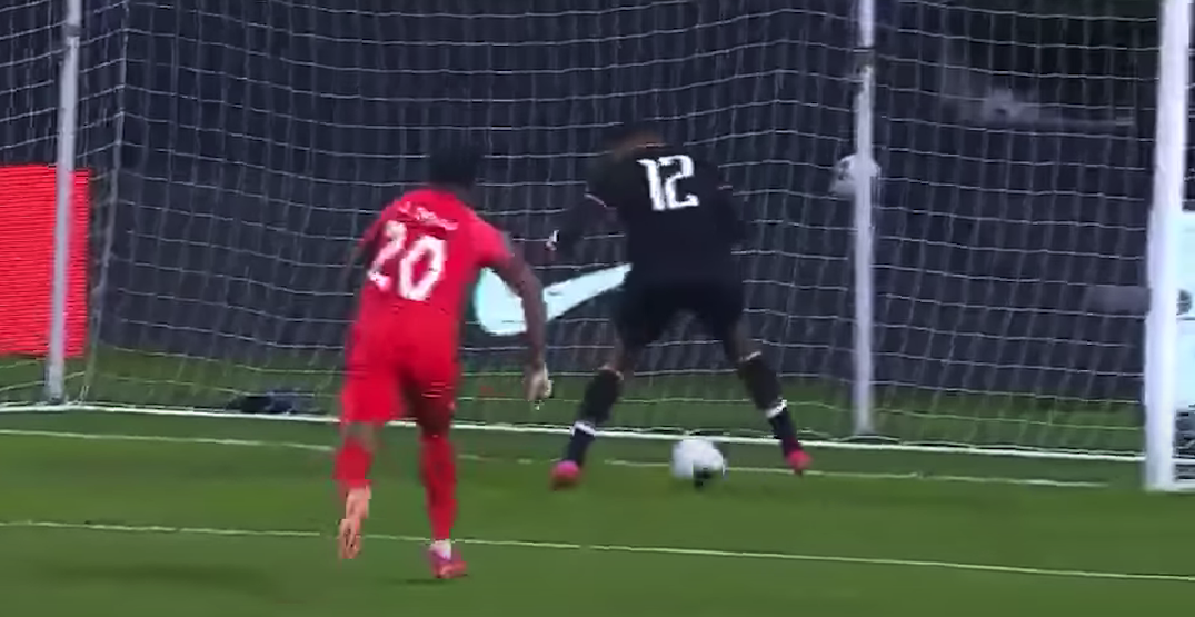Haitian goalkeeper allows one of the worst goals of all-time against Canada (VIDEO)