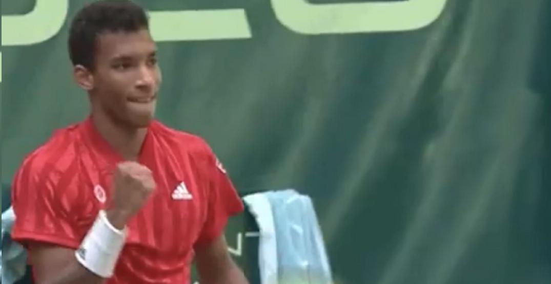 Canada's Félix Auger-Aliassime pulls off major upset over Roger Federer
