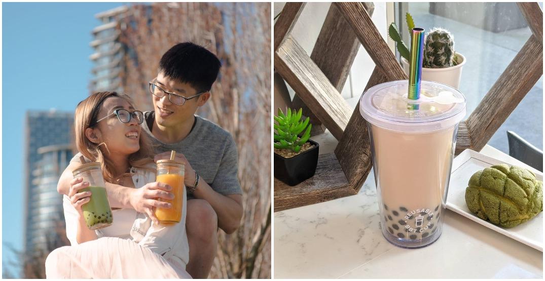 Reusable bubble tea cup makes the popular dessert drink eco-friendly