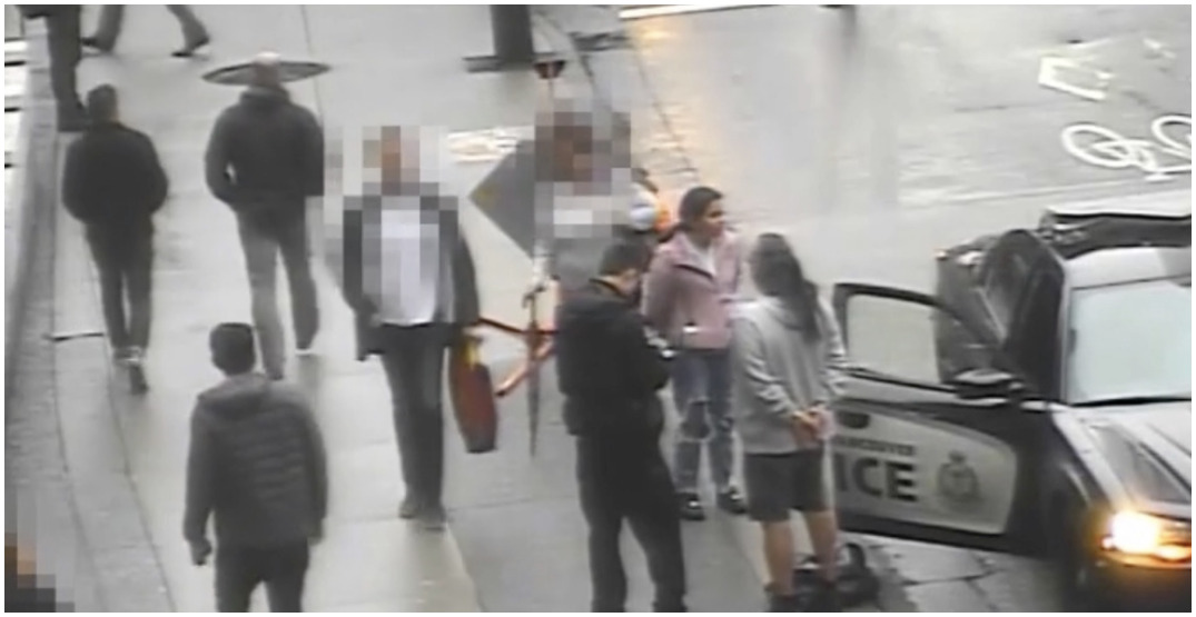 CCTV footage released of arrest of Indigenous man and granddaughter