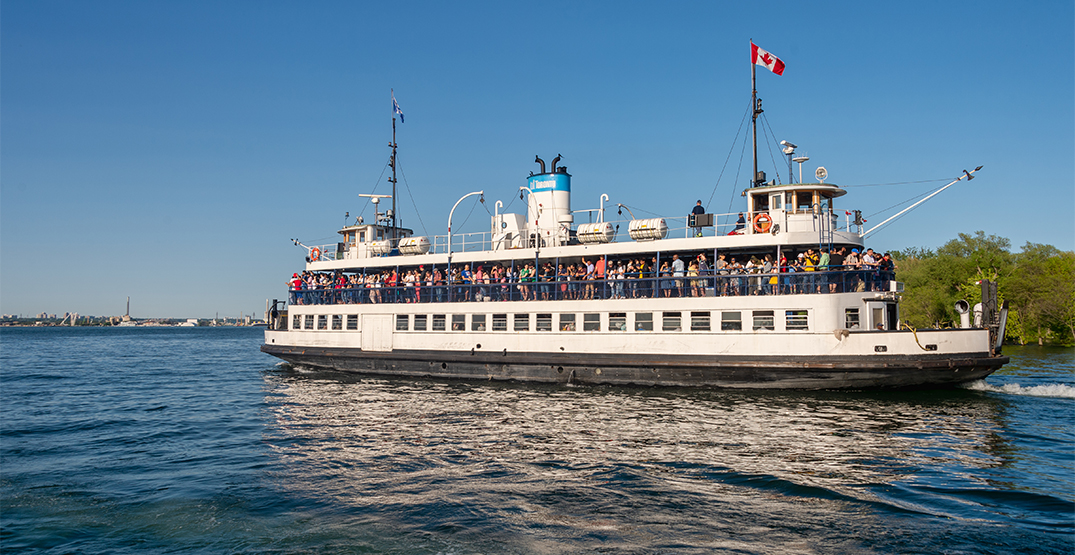 Here are all the ways to travel to the Toronto Islands