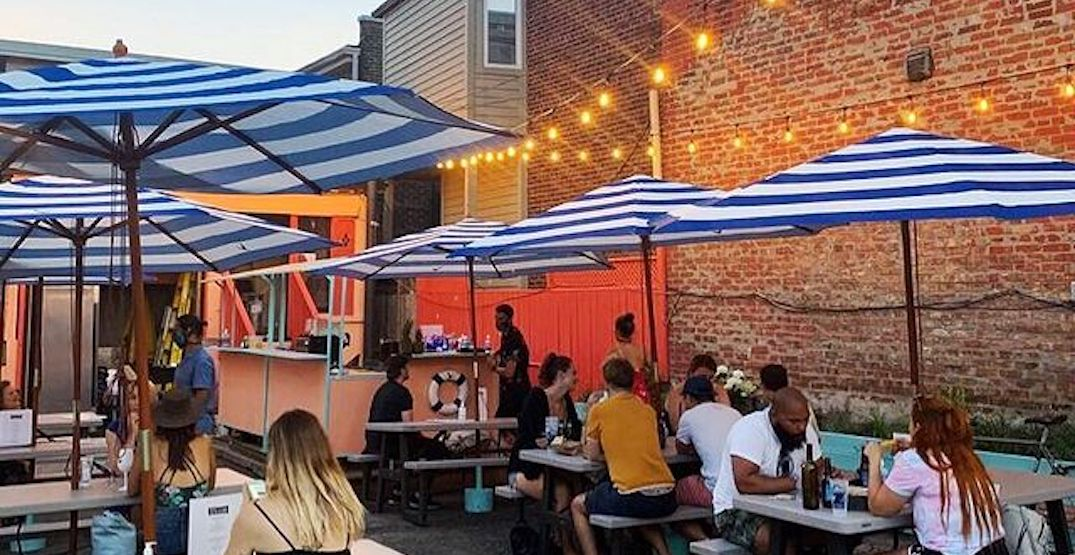 Toronto's Venice Beach bar is back with cocktails and food pop-ups