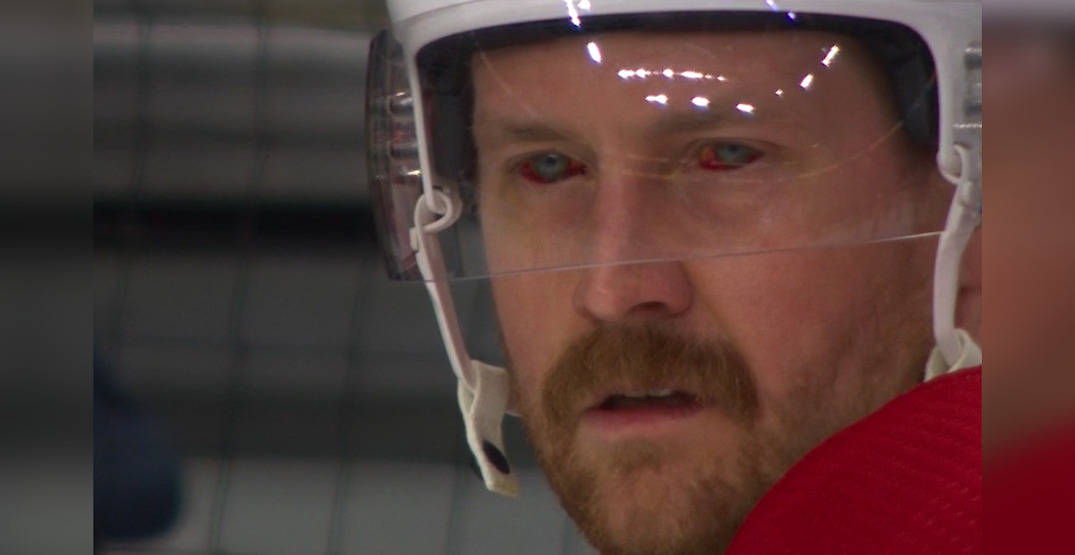 Wife of Canadiens' Jeff Petry explains her husband's evil-looking red eyes