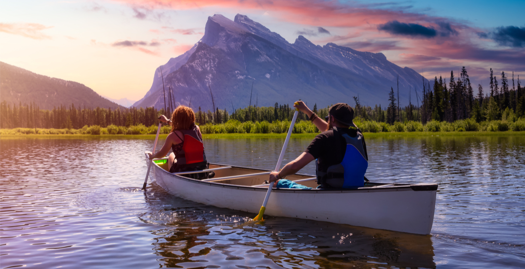 Permit now required for canoeing and other water sports in Banff National Park