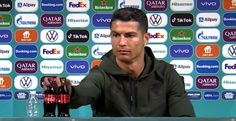 Fines threatened after Ronaldo's Coca-Cola snub costs company $4 billion
