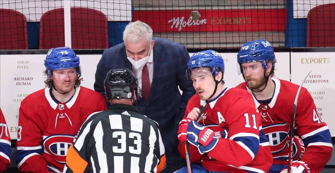 """Canadiens coach Ducharme sent home due to COVID """"test irregularities"""""""
