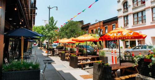 """Patio Lover's Paradise"": This Toronto neighbourhood has 52 patios   Dished"