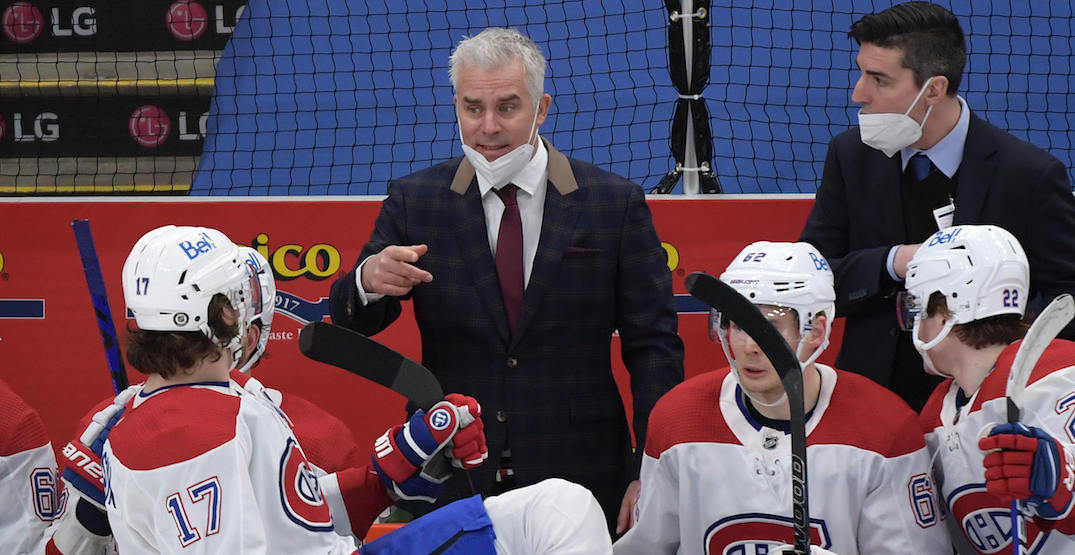 Canadiens coach Ducharme tests positive for COVID-19