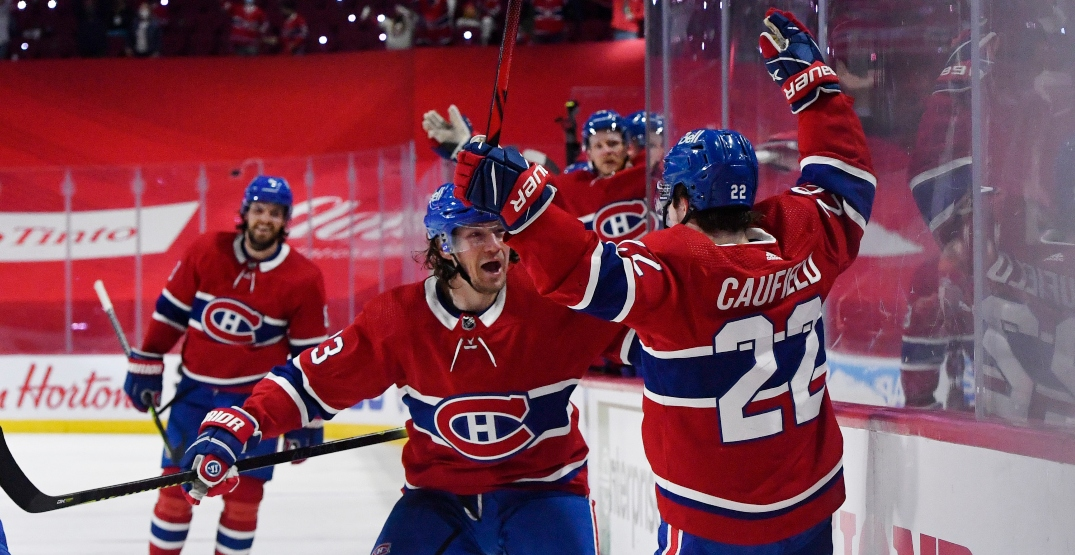 Canadiens beat Vegas in OT in stunning Game 3 comeback win