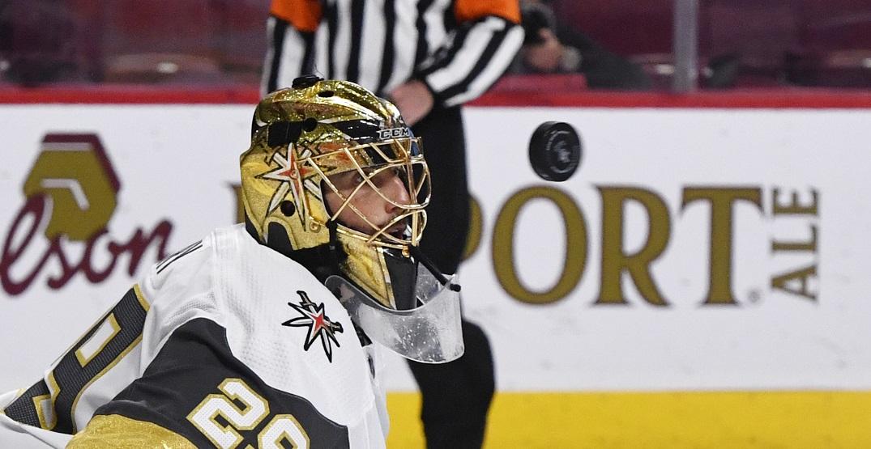 Vegas benching Fleury tonight vs Canadiens: report
