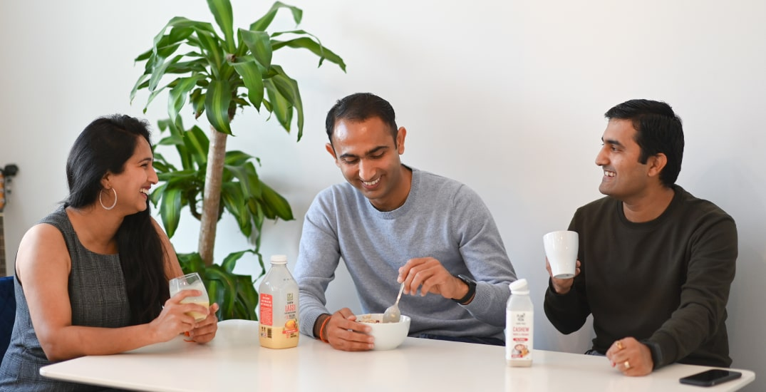 Canadian entrepreneur family bringing plant-based lifestyle to dairy aisles