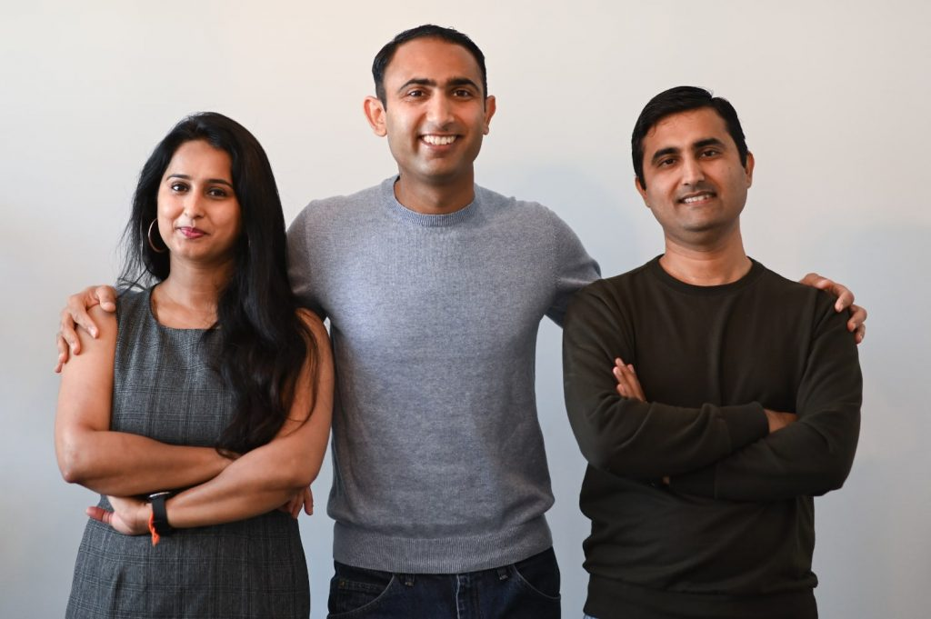 Plant Veda's founders Sunny Gurnani, Vanita Gurnani, and Mayur Sajnani (Submitted)