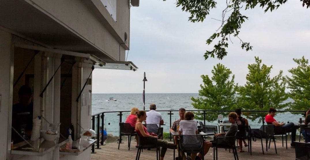 Ontario Place has finally opened its outdoor restaurant patio
