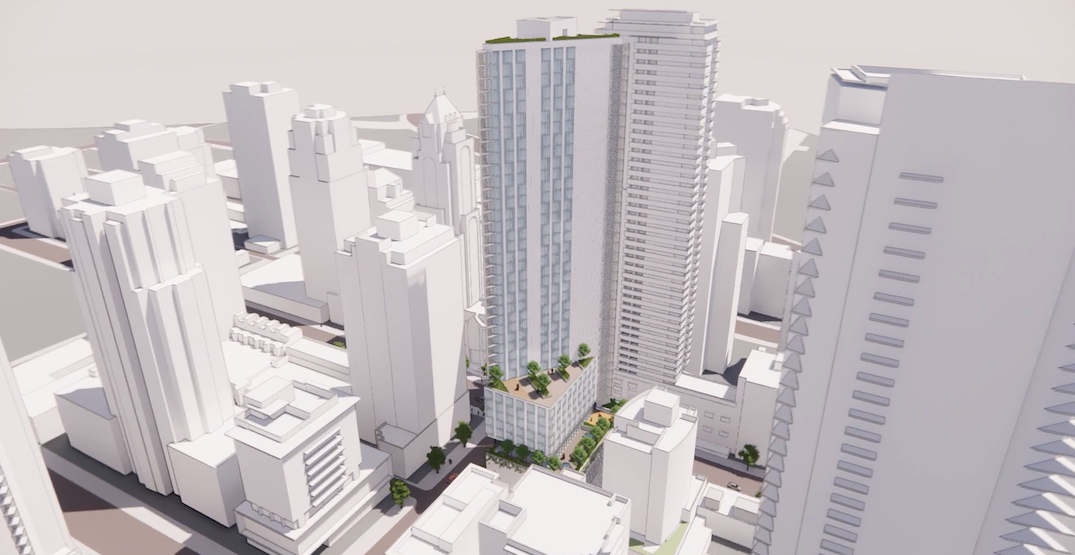 39-storey tower with 100% social housing approved for downtown Vancouver