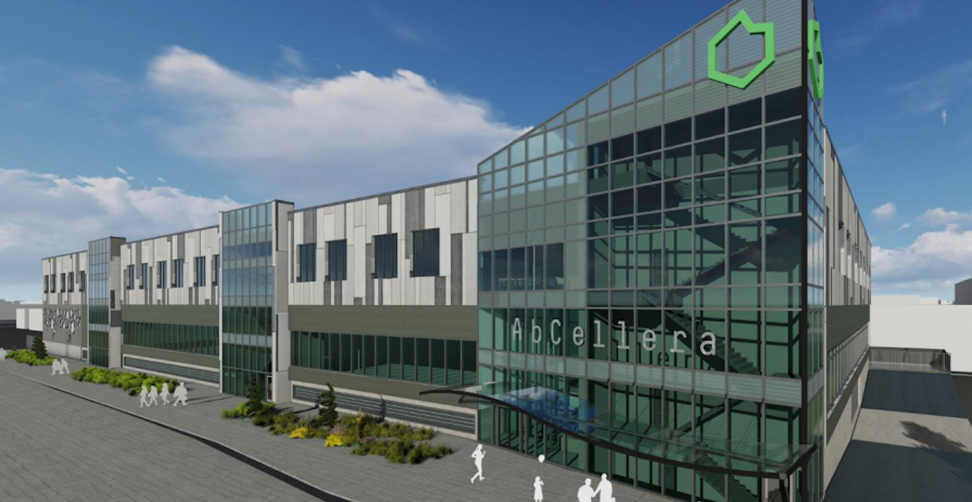 AbCellera to build therapeutic antibodies manufacturing facility in False Creek Flats