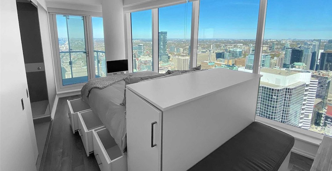 This itty-bitty Toronto studio condo just sold for almost $560,000