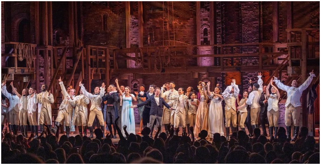 Hamilton and other hit Broadway productions are coming to Calgary