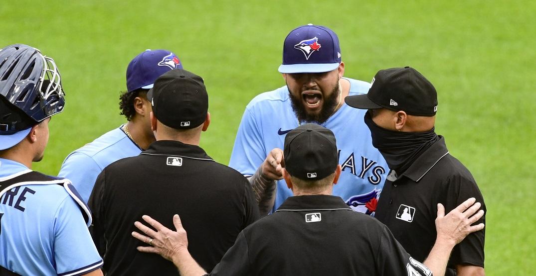 MLB hands multi-game suspension to Blue Jays pitcher Alek Manoah