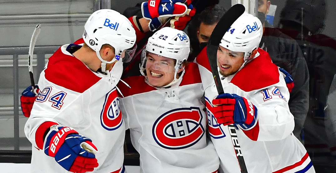 Canadiens one win away from Stanley Cup Final after big win in Vegas