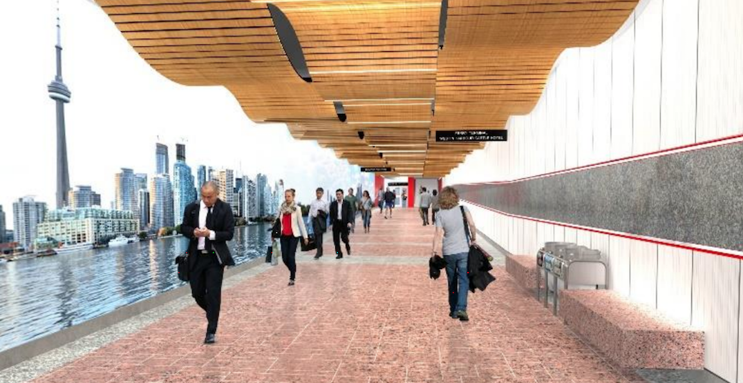 The Toronto ferry docks are getting a new TTC station (RENDERINGS)