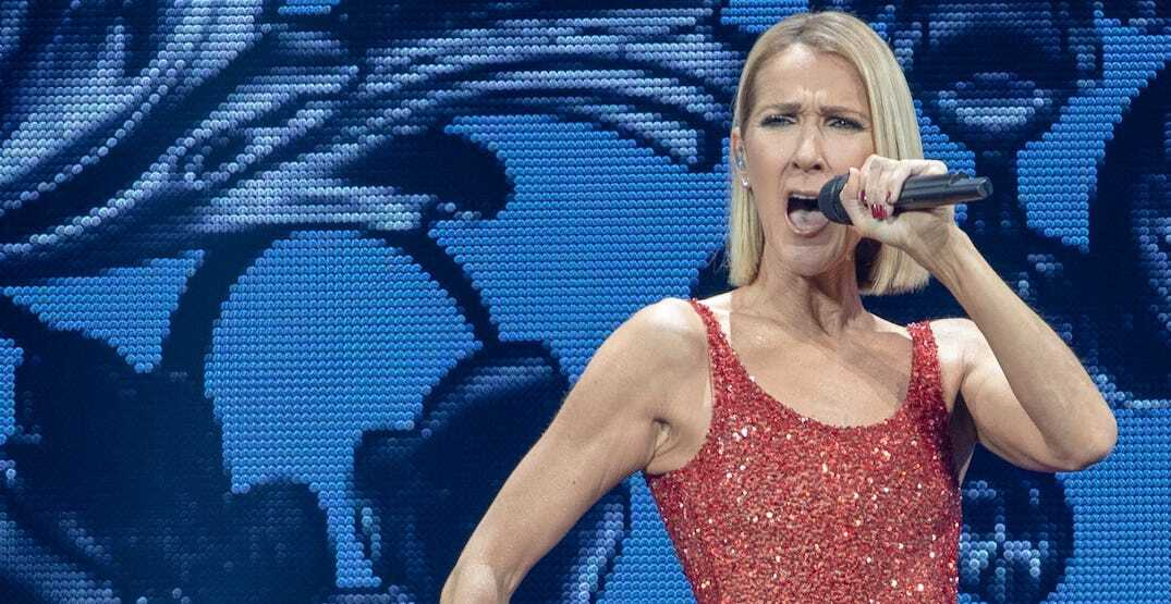 Vegas tries to troll Canadiens with Celine Dion image on arena scoreboard