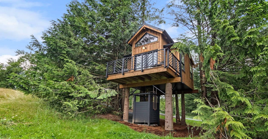 """BC Bucket List: You can vacay in this dreamy """"designer treehouse"""" (VIDEOS/PHOTOS)"""