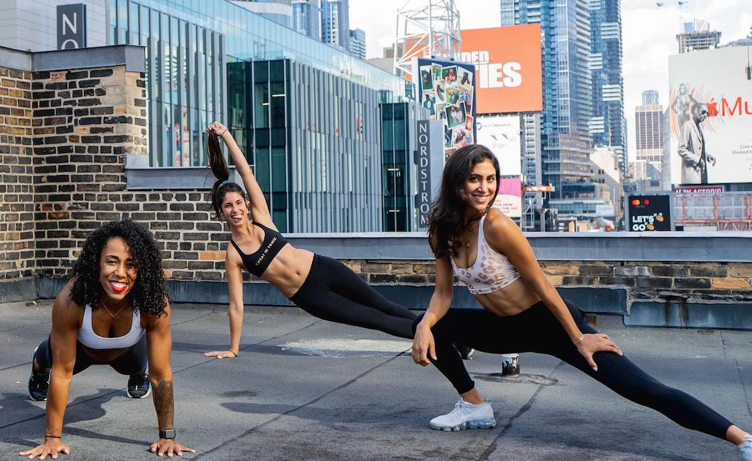 Toronto fitness studio offering a week of free rooftop classes