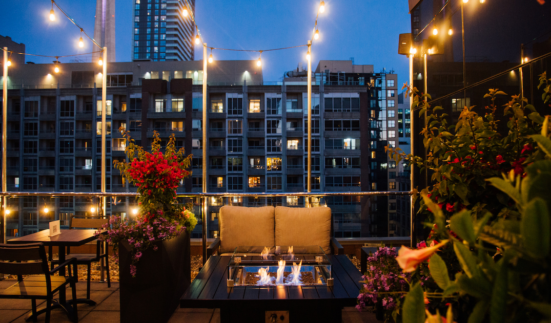 This elegant terrace is Toronto's newest rooftop patio (PHOTOS)