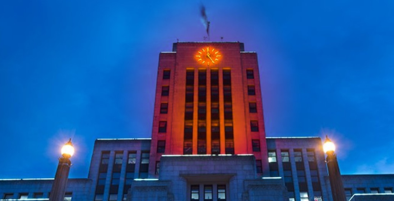Vancouver City Hall, Burrard Bridge to be illuminated orange on Canada Day