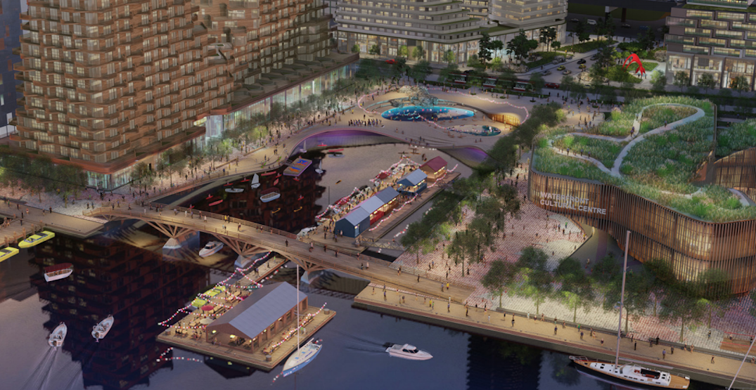 Toronto's Parliament Slip could have a public pool and floating restaurant by 2025
