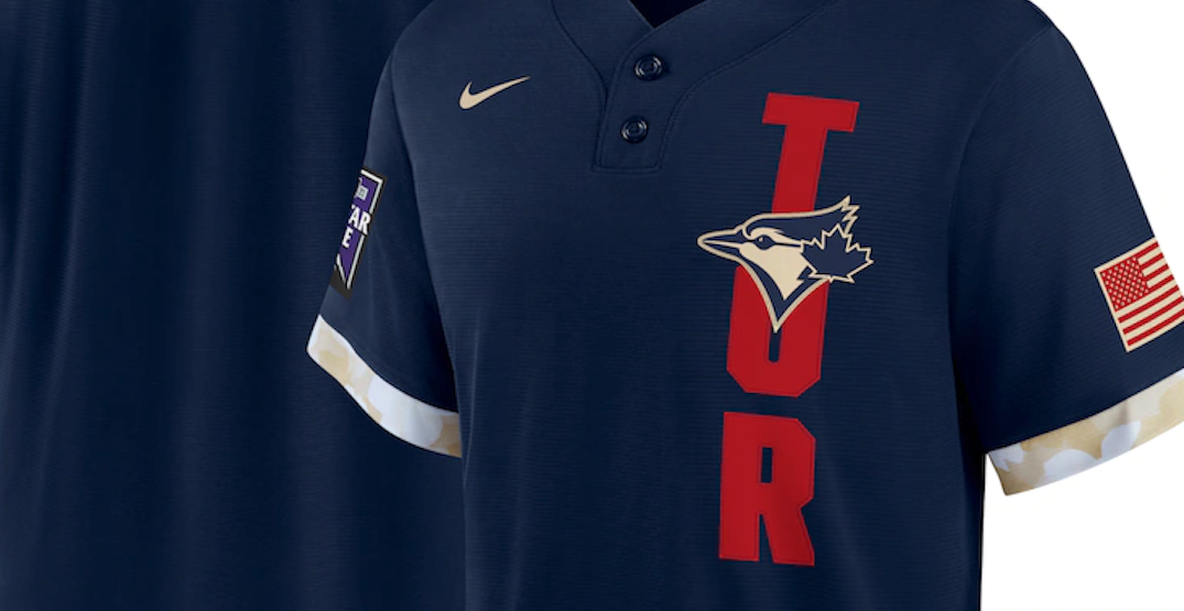 New Blue Jays All-Star uniform features American flag and ignores Canada