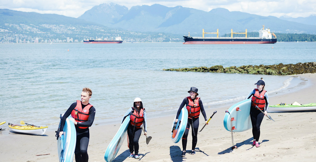 We tried three epic water sports at this glorious Vancouver spot (PHOTOS)