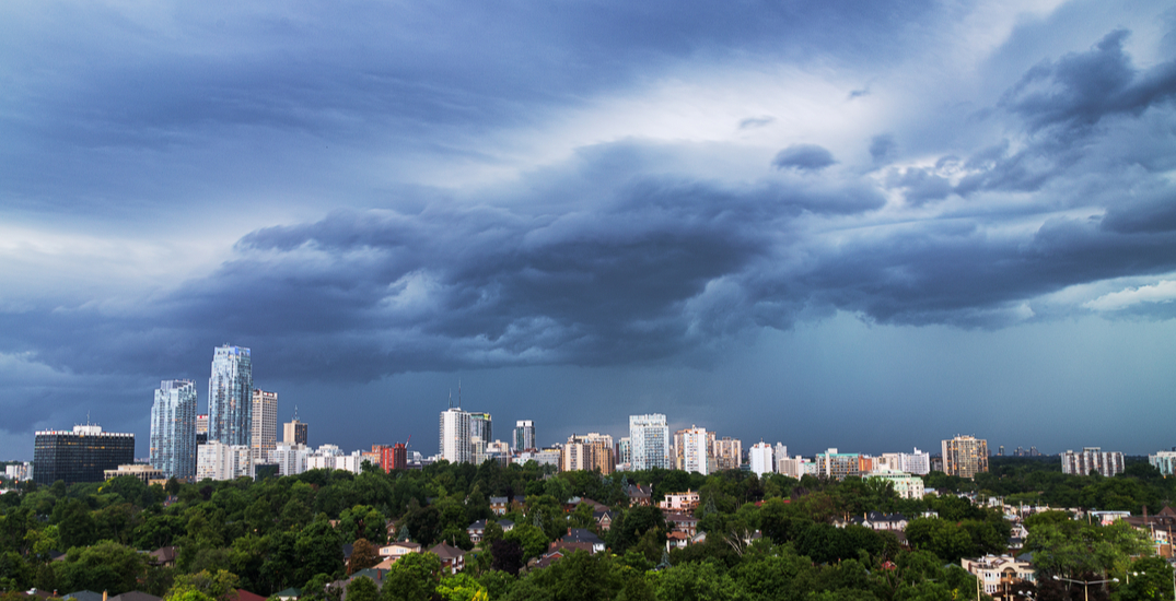It's going to rain every day in Toronto for almost a week