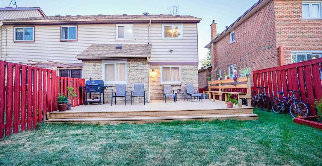 The 5 most affordable Toronto homes with yards that are for sale right now